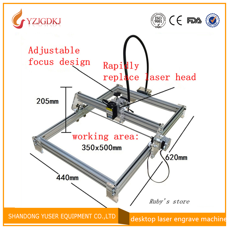 2016 New 5500MW  DIY laser engraving machine for toy  laser cutting machine ,5.5w laser engraver,working area 35*50cm футболка toy machine leopard brown