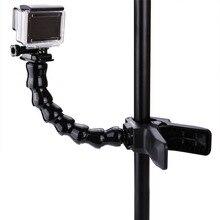 Go Pro Accessories Adjustable Neck gopro camera Jaws Flex Clamp Mount Flexible Tripod for Gopro hero 4/3+3/2 Camera Accessorie