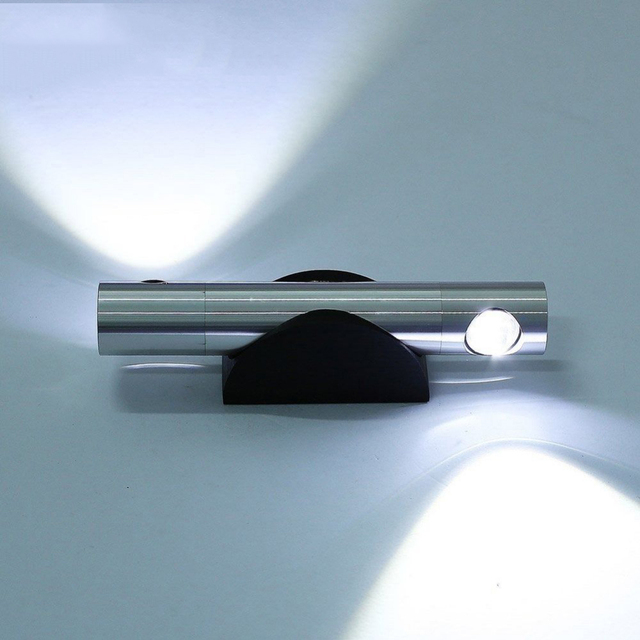 Heißer verkauf Moderne 2*3 Watt led wandleuchte bett lampe hotel ...