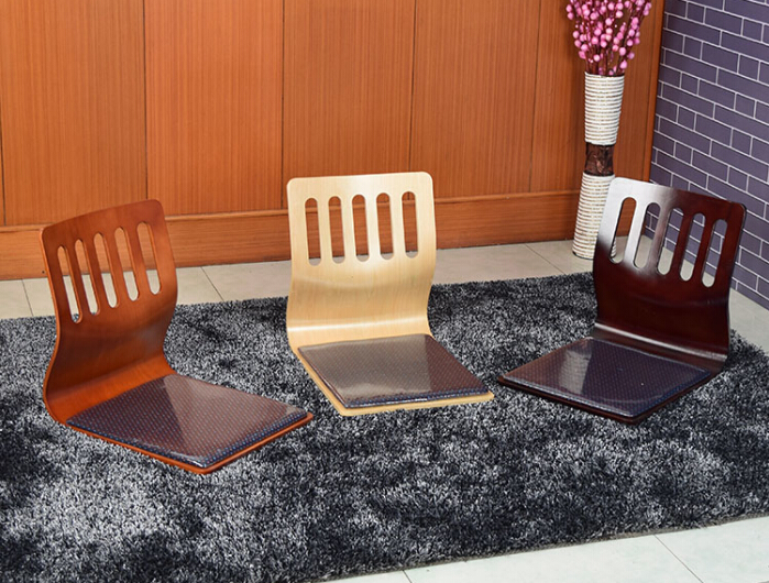 Aliexpress.com : Buy (4pcs/lot)Floor Seating Chair Home Living Furniture  Japanese Tatami Zaisu Legless Chair Ergonomic Carved Back Seat Chair Design  From ...