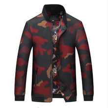 Free shipping Mens Denim Jacket 2018 Men's Fashion Design Camouflage Brief Paragraph Bomber Jackets Men Jacket Casual