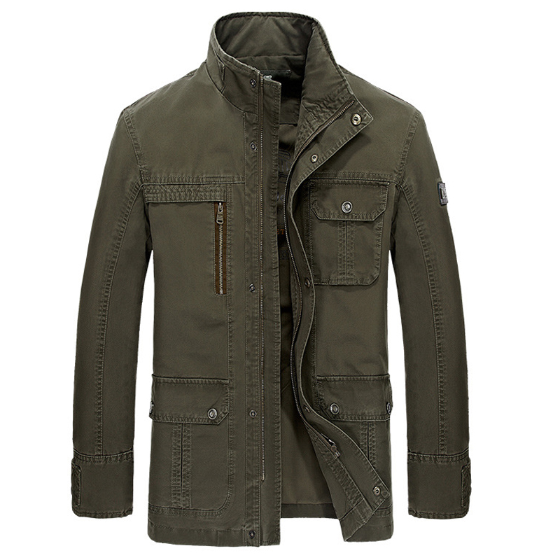 Style Mens Jackets and Coats Winter Warm Parka For Mens Brand Designer