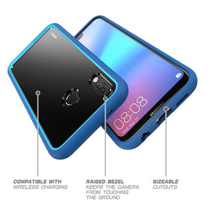 Image 4 - SUPCASE For Huawei P20 Lite Case Cover UB Style Series Anti knock Premium Hybrid Protective TPU Bumper+PC Clear Back Cover Case