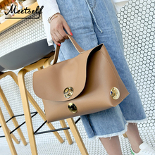 MEETSELF Brand Fashion Female Handbags Solid Colors Soft Large Capacity Sequined Top-Handle Bags For Woman Totes Borsetta DM-983