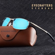 cacea4481d EYECRAFTERS Men s Polarized Sunglasses Metal Frame Night Vision Car Driving