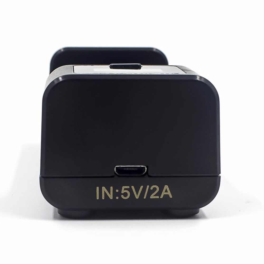Golisi i1 الشواحن الذكية شاشة الكريستال السائل بطارية قابلة للشحن شاحن 2A شحن سريع ل 18650 21700 26650 Ni-mh Ni-cd بطارية
