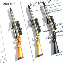 Sniper Rifle Gel Pen Creative Survival Game Gun Toy Gel Pens Neutral Pen 0.5mm for School Writing Kids Novelty Stationery Gifts(China)