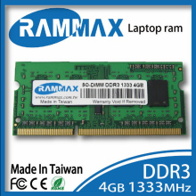 SO-DIMM 1333Mhz Laptop Ram Memory 1x4GB DDR3 PC3-10600/1.5v 204-pin/ CL9/high compatible with all brand motherboards of Notebook