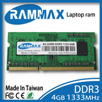 SO DIMM 1333Mhz Laptop Ram Memory 1x4GB DDR3 PC3 10600 1 5v 204 Pin CL9 High