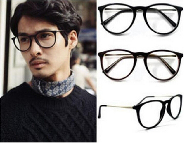 Fashion Famous Designer Women Men Eye Glasses Frames Korean Vintage ...