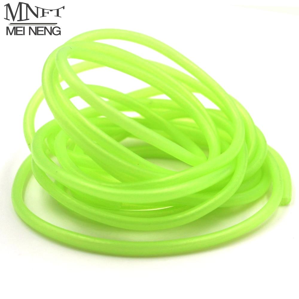 MNFT 2 meters multiple color red / green fly tying riging tube PVC lumo tubblings Fishing Material Luminous Tube умный браслет lumo lift