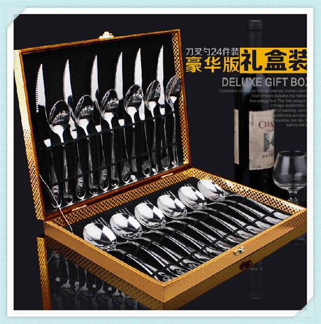 High grade cooking tools Stainless steel western tableware Kitchen supplies Household items (24pcs/lot & High grade cooking tools Stainless steel western tableware Kitchen ...