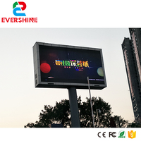 High brightness Outdoor led advertising Pitch 6mm display, led display screen outdoor led tv video p6