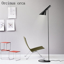 Simple modern Nordic creative living room bedroom lamp study  eye protection LED floor