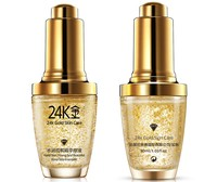 AFY 24k Pure Gold Foil Essence Hyaluronic Acid Liquid Cream Skin Treatment Anti Aging Whitening Moisturizing