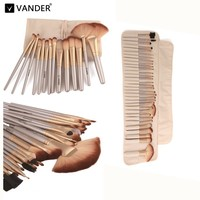Life Professional Soft Champagne 32pcs Makeup Brushes Tools Set Beauty Cosmetic Make Up Tools Eyeshadow Blush
