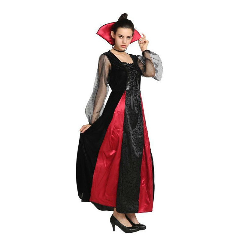 Christmas Carnival halloween costumes for women plus size vampire animal sexy  witch adult Masquerade Party Fancy Dress Cosplay-in Holidays Costumes from  ... eace239fcf4d
