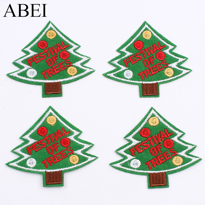 Christmas Tree Patch: Aliexpress.com : Buy 10pcs/lot Embroidered Christmas Tree