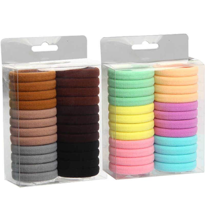 Korean fashion hot explosion wall hanging boxed hair ring high elastic nylon seamless towel ring wholesale