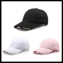 Fashion Adjustable Ring Baseball Cap Wild Couple Hats Spring Summer for Women Unisex Baseball Caps 3