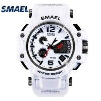 SMAEL Brand Men S Outdoor Sports Watch LED Digital 30M Waterproof Casual Watch S Shock Male