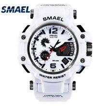 SMAEL brand Men's outdoor sports watch LED digital 30M waterproof Casual watch S-Shock male clock relogio masculin boy men gifts