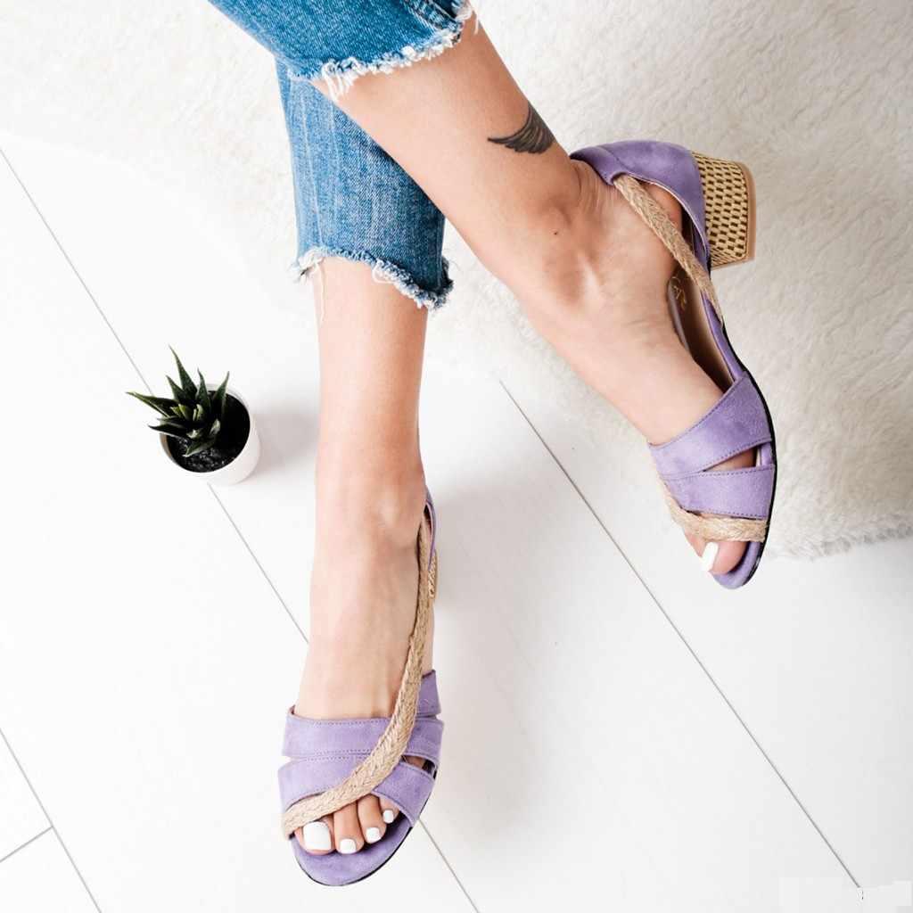 Schoenen vrouw sandalen hoge hakken vrouwen sandalen platte casual schoenen zomer sandalen vrouwen 2019 zomer schoenen echt platform