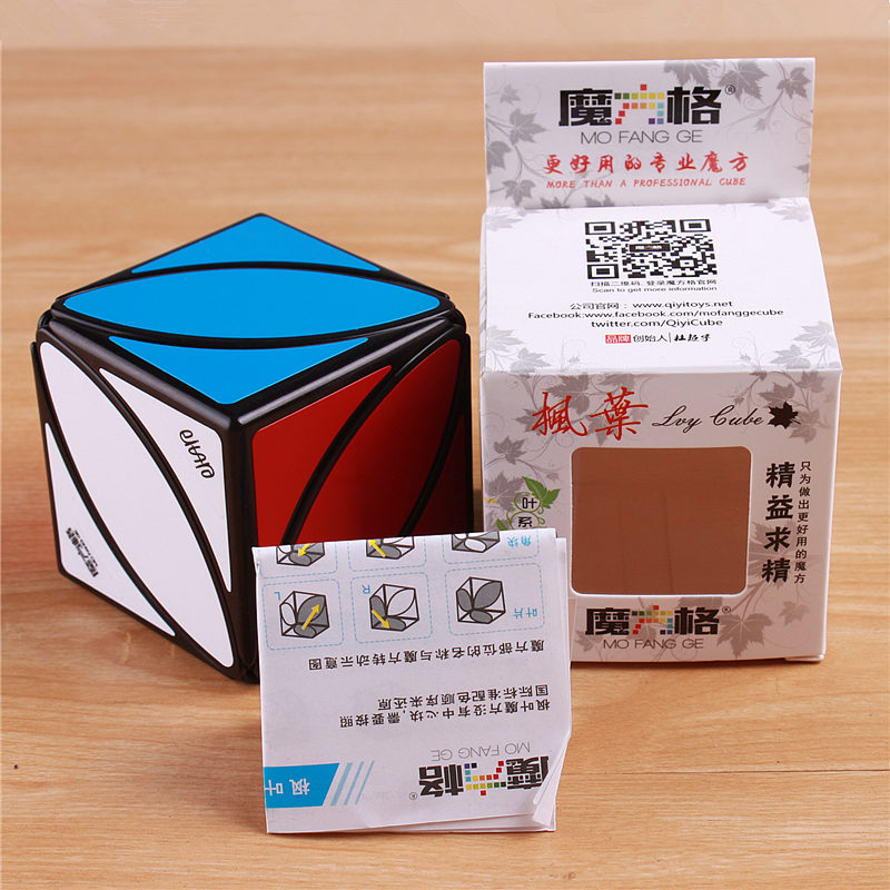 Original QiYi Mofangge Lvy Blad Line Pussel Magic Cube Speed - Spel och pussel - Foto 6