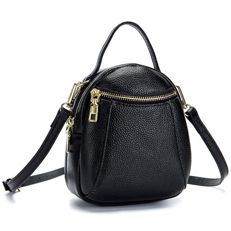 Bolsas Feminina New Arrivals Premium Cowhide Leather Fashion Style Female Messenger Bags Large Capacity Women Leather Bags 2018