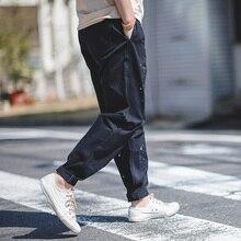 MADEN Mens רגוע Fit מתכוונן מותניים אריג עבודת מטענים מכנסיים עם להתיז צבע
