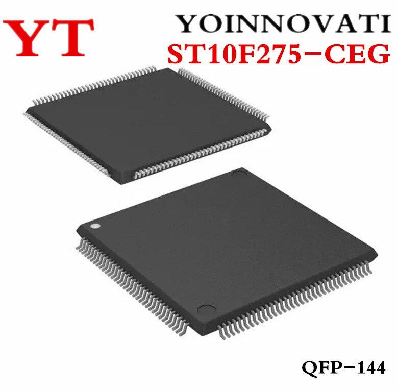 Free shipping 5 PCS ST10F275 CEG ST10F275 ST10F275CEG ST10F275 CEG TQFP144 Best quality