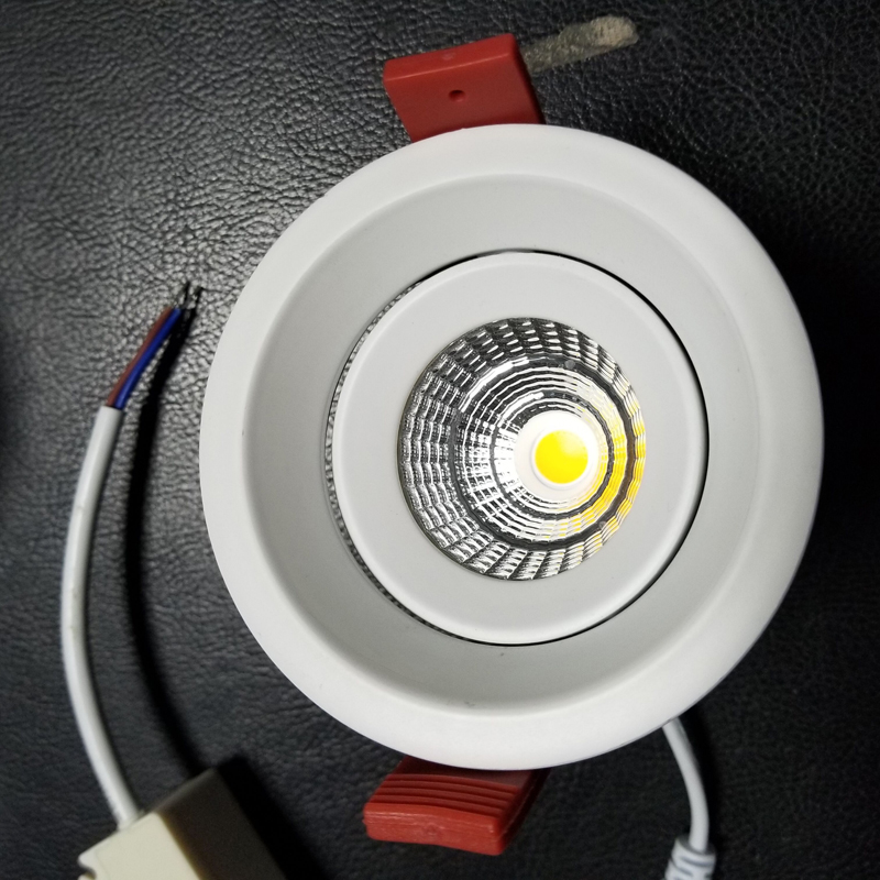 Bright Dimmable led downlight COB Ceiling Spot Lights 5W ...