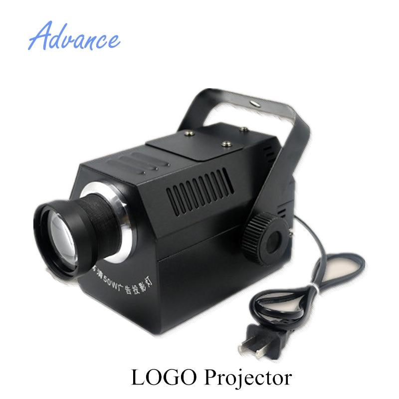 Gobos projecteur lentille Logo 50 W haute résolution magasin Mail Restaurant bienvenue Laser projecteur ombre conception propre affichage personnalisé