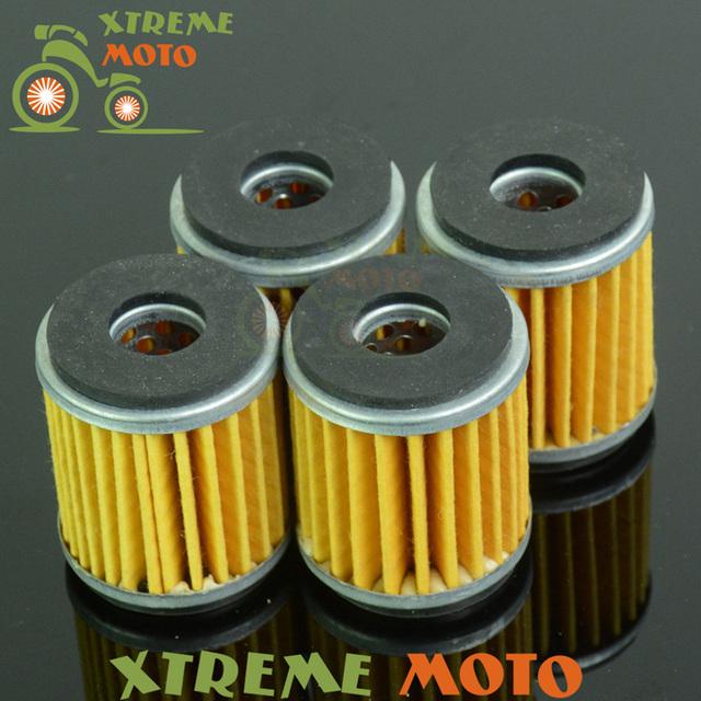 4 * limpeza do filtro de óleo para yamaha wr125 xg250 ybr250 xt250 yz250f wr250r wr250x wr250f wr450f yz450f motocross enduro da bicicleta da sujeira