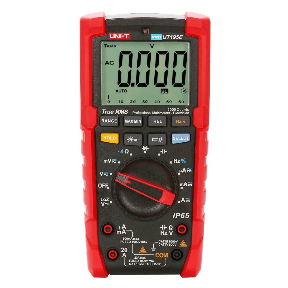 KKMOON multimètres numériques vrai RMS professionnel IP65 étanche à la chute étanche à la poussière multimètre Test de LoZ