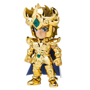 "Image 2 - 100% Original BANDAI Tamashii Nations Saint Seiya Daizenshuu Collection Toy Figure   Leo Aiolia from ""Saint Seiya"""