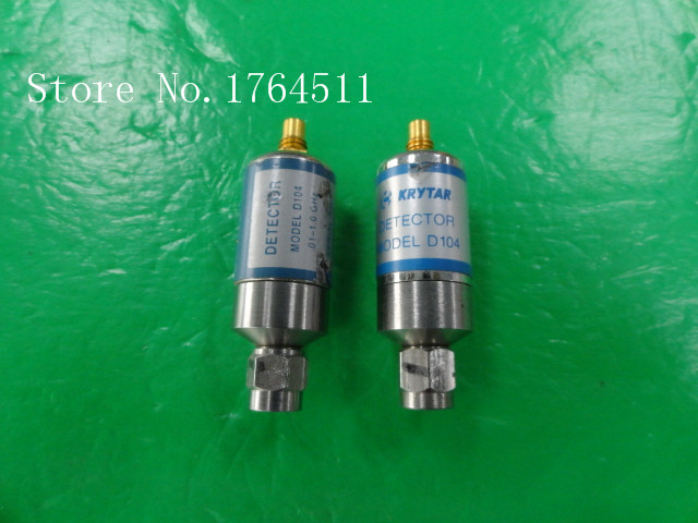 [BELLA] Imported KRYTAR D104 0.01-1GHZ Microwave Coaxial Detector SMC-SMA