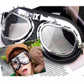 Brand New Brand New Vintage Motorcycle Bike Glasses Scooter Cruiser Helmet Pilot Goggles