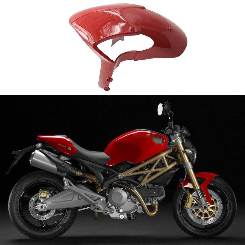 Motorcycle Front Tire Fender Mudguard Splash Guard Mudflap Gloss Fairings for Ducati Monster 696 795 796