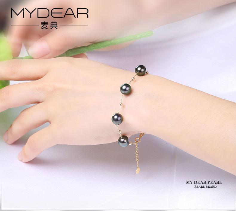 gold pearl bracelets 11
