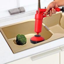 Pipe Dredger Toilet Plunger Rubber Floor Drain Sewer Kitchen Blocked Pipe Dredge Tool