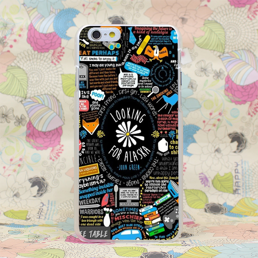975-GOP looking for alaska Hard Transparent Case Cover for iPhone 4 4s 5 5s SE 5C 6 6s Plus 7 7 Plus