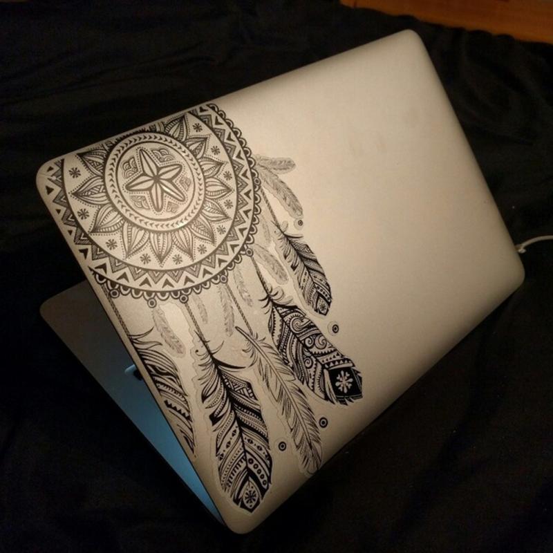 Fashion Flowers Laptop Skin Sticker Decal For Macbook Air Pro Retina 13 Mac book 11 13 15 inch