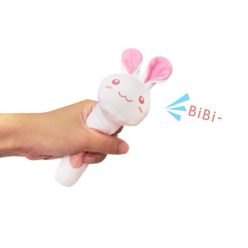 Image 5 - Bearoom Baby Rattles Cute Stroller Toy Musical Mobile Baby Toys Hand Bell Rabbit Music Doll Bed Bell For Infant Stroller-in Baby Rattles & Mobiles from Toys & Hobbies