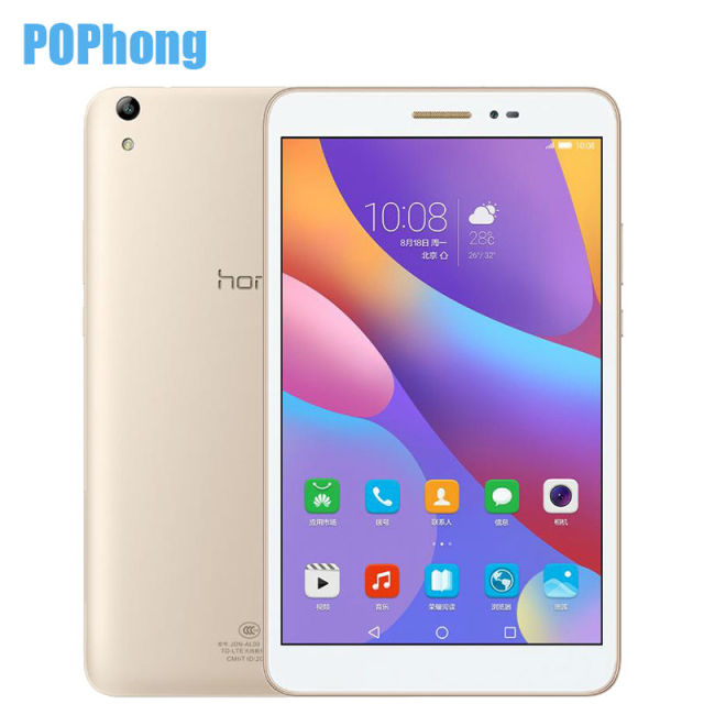 "Оригинал huawei honor tablet 2 android 6.0 3 ГБ ram 8.0 ""Tablet PC LTE/WIFI Octa Ядро Snapdragon MSM8939 8.0MP Камера OTG"