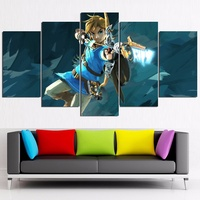 The Legend of Zelda Poster Canvas Painting Print Home Decor No Frame