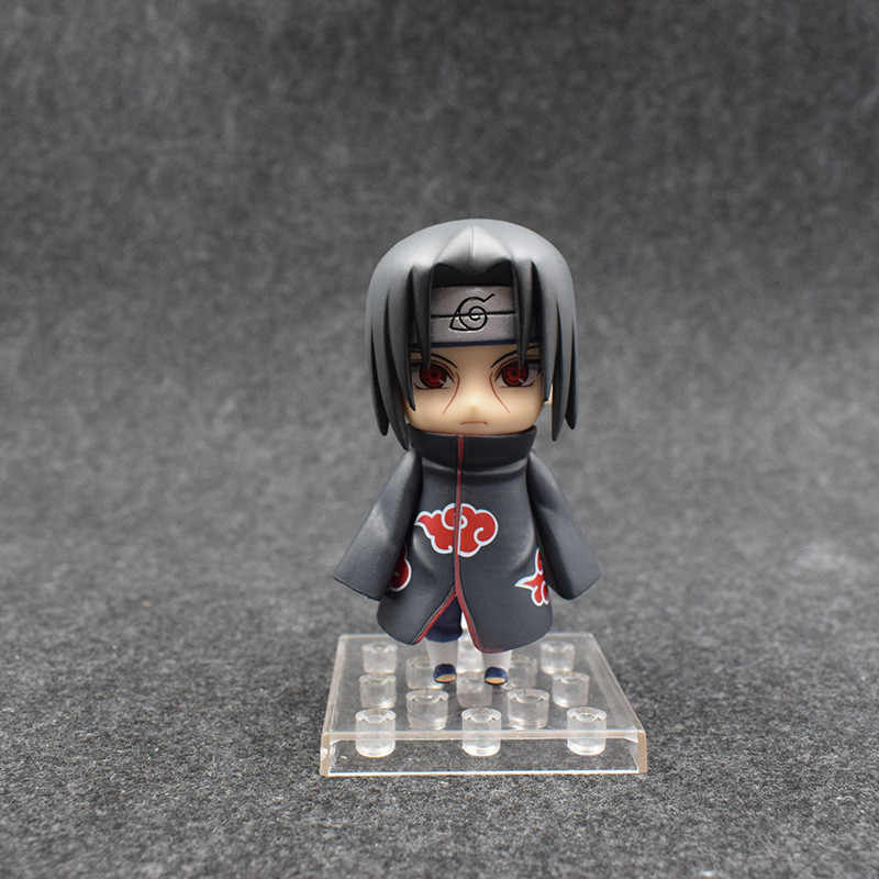 Yeni Anime Naruto Shippuden Aksiyon Figürleri Oyuncaklar Uchiha Itachi Figuras Bebekler Brinquedos Cosplay Hediye 3 adet/takım 10 cm