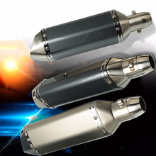 Moto exhaust motorcycle 36MM 51MM for pitbike crf 230 honda cb650f benelli trk502 triumph motorcycle exhaust motorcycle muffler