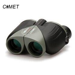 A ESTRENAR 10X25 HD de visión amplia 100% binoculares ópticos compactos de alta lente óptica de Camping de turismo al aire libre telescopio de caza cometa