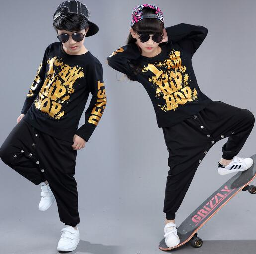 Spring Autumn Children's Clothing Set Kids Hip Hop Clothes Outfit Long Sleeve Sports Suits Child T-shirt + Pants Twinset free shipping big discount rbl 288diy nude blyth doll birthday gift for girl 4colour big eyes dolls with beautiful hair cute toy
